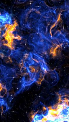 星空 梦幻 抽象 太空 神秘