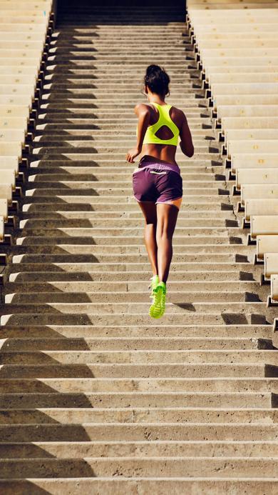 运动 体育 跑步 楼梯