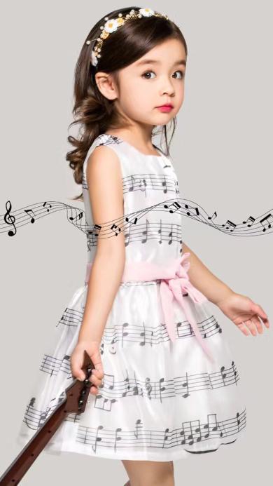 苏菲 萌娃 乖巧 可爱 小提琴 乐章
