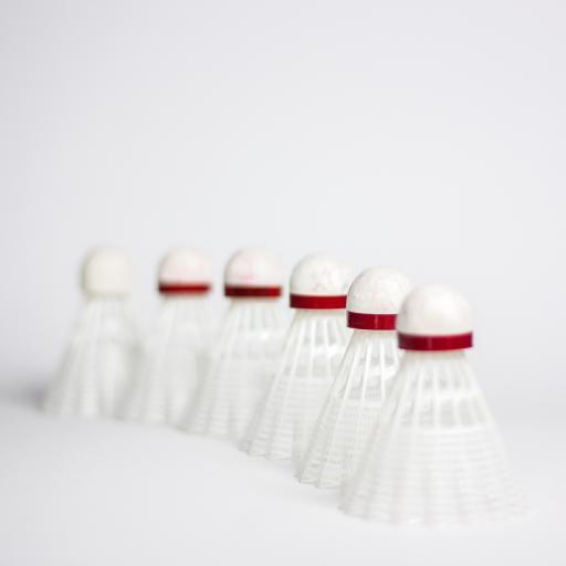 羽毛球 运动 白色