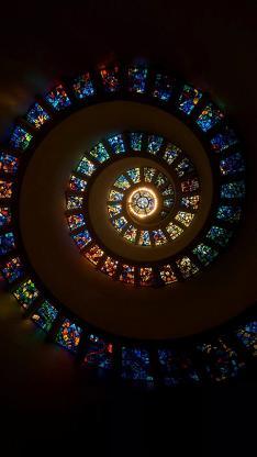 屋顶 建筑 旋涡 玻璃