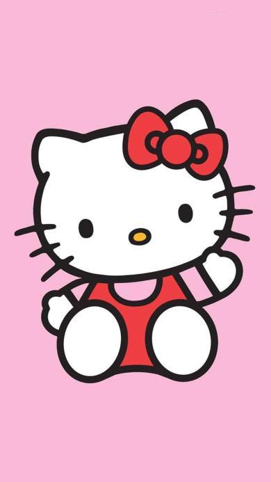 可爱 HelloKitty 动漫 卡通 粉