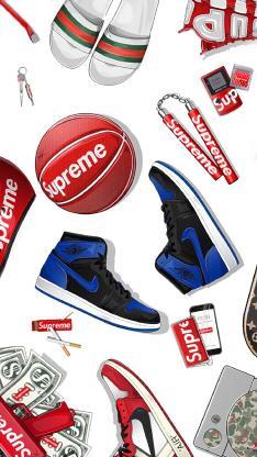supreme 运动 品牌 球鞋 篮球