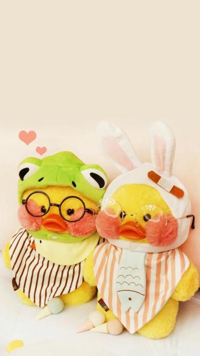 网红 玻尿酸鸭 玩偶 丑萌