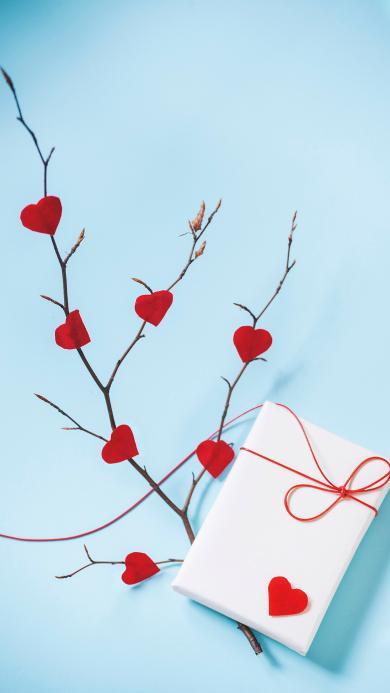 爱心 礼盒 礼物 包装