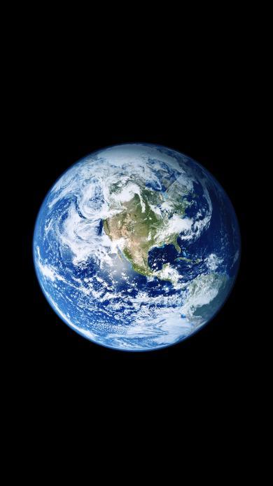 地球 宇宙 iOS11内置壁纸 太空