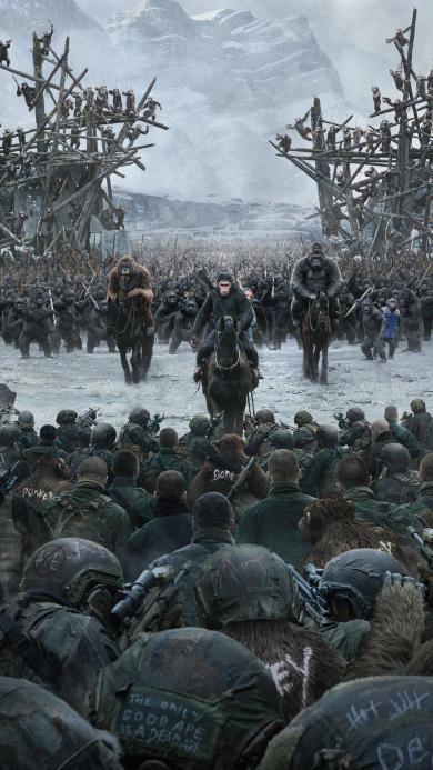 猩球崛起3 终极之战 科幻 美国 电影 凯撒