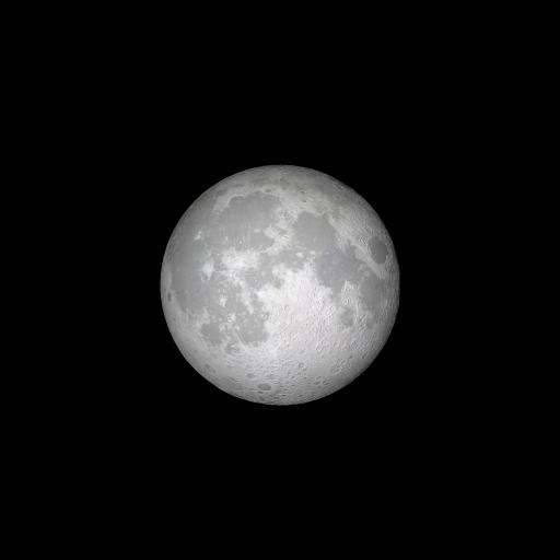 月球 宇宙 太空 iOS11内置壁纸