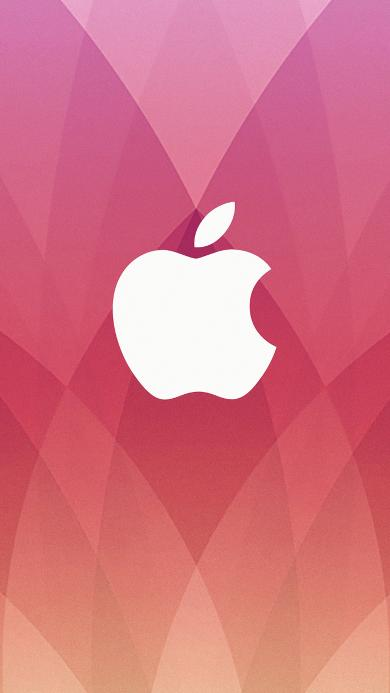 苹果 logo 品牌  粉色 科技 电子产品