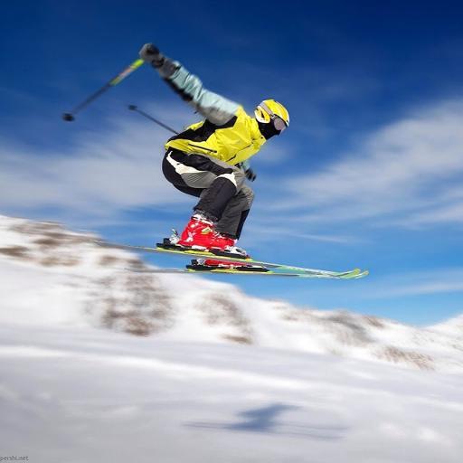 滑雪 体育 速度 运动