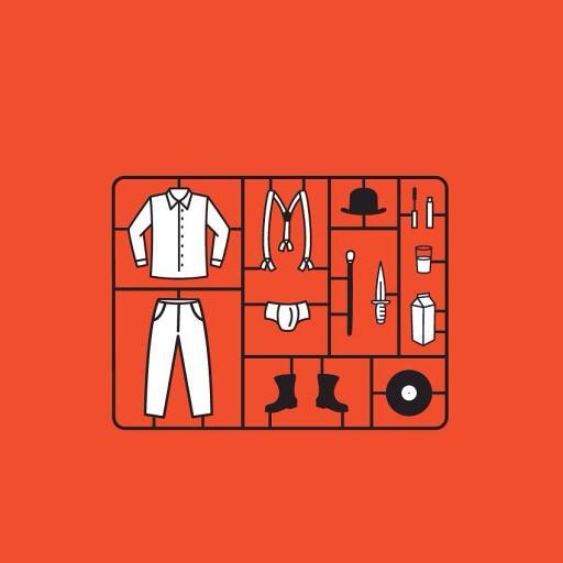 插画 手绘 衣物 衣柜