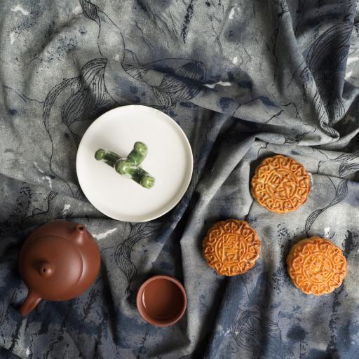 月饼 中秋 传统节日 茶 糕点