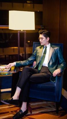 张翰 演员 明星 艺人 时尚 写真