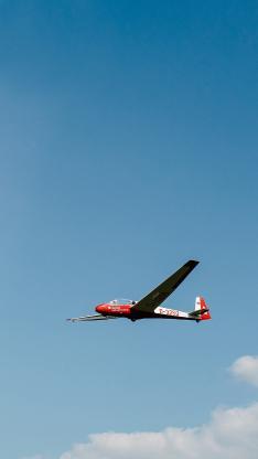 飞机 飞行 航空 天空 蓝天白云