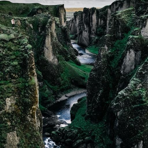 山川 峡谷 大自然 风景