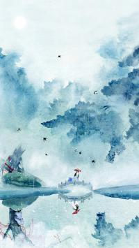 绘画 手绘 古风 中国风