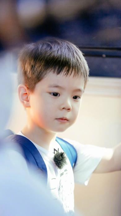 嗯哼 杜宇麒 爸爸去哪儿 综艺 小男孩 可爱