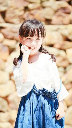 小山竹 纪美伊 小女孩 可爱 爸爸去哪儿 综艺
