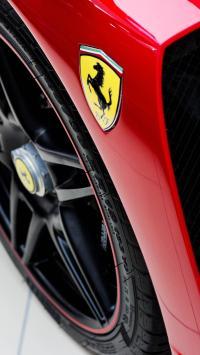 法拉利 红色 标志 超级跑车