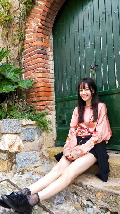 迪丽热巴 胖迪 时尚 演员 明星 艺人 长腿