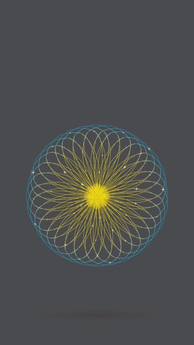 线条 圆形 灰色 几何