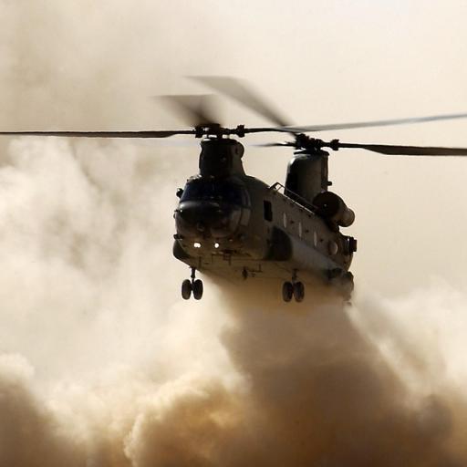 直升机 飞机 云彩 天空