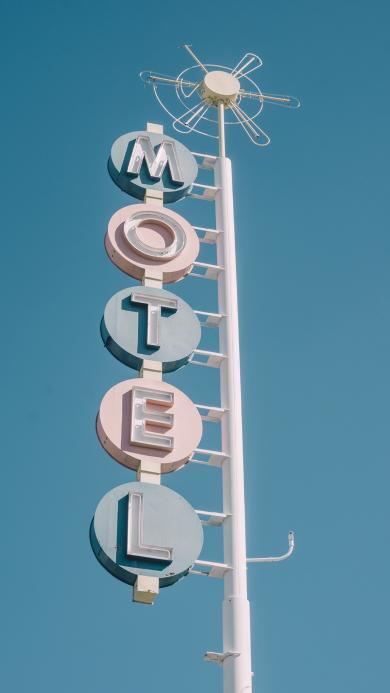 路标 照片 motel  天空