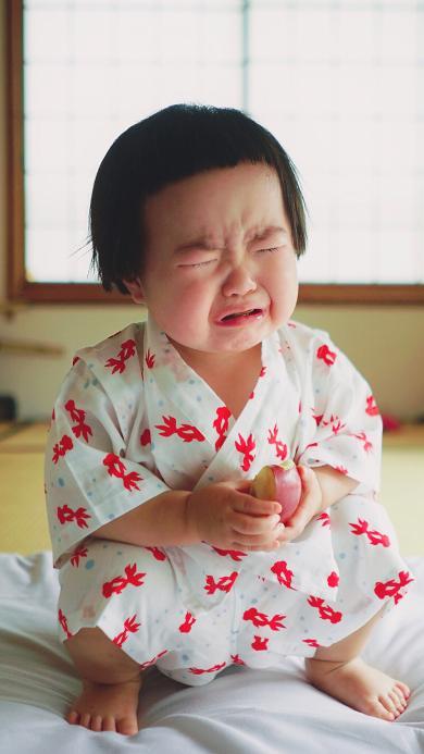 小蛮 小网红 可爱 哭 小女孩 和服 萌