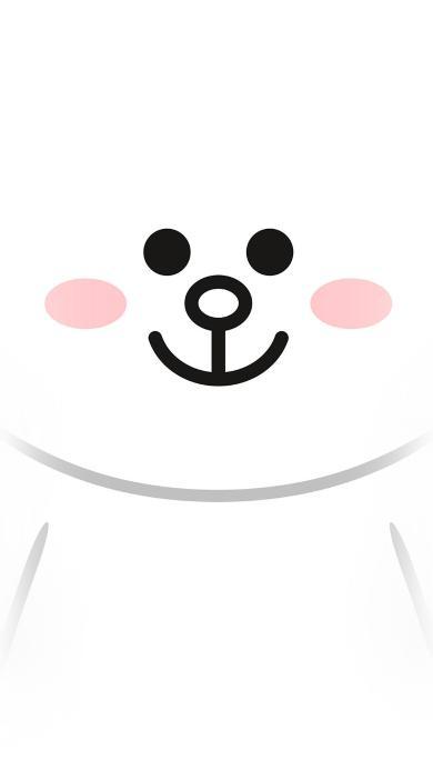 可妮兔 白色 可爱 卡通 line friends