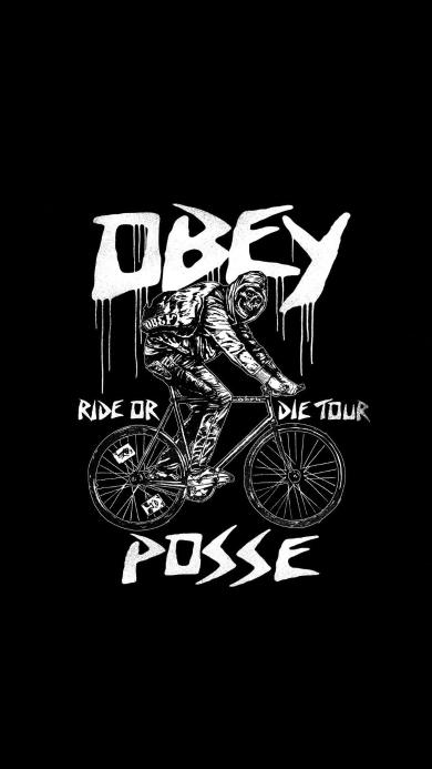 obey 潮牌 自行车 ride