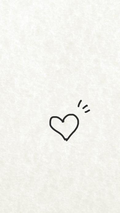 简笔画 手绘创意 爱心