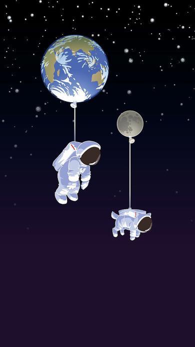 航空 太空 臆想 宇航员