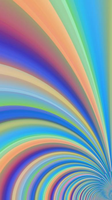 色彩 线条 渐变 空间 螺旋