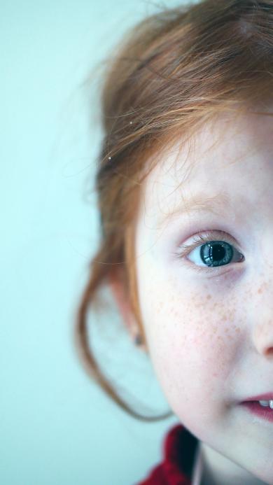 雀斑女孩 欧美 小女孩 儿童