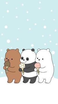 咱们裸熊 动画 卡通 熊猫 北极熊 棕熊