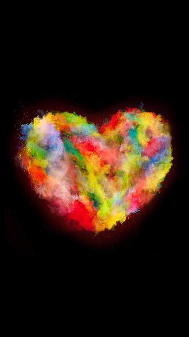 创意 爱心 色彩