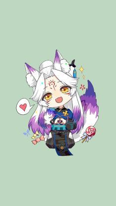 狐妖 卡通 手游 阴阳师