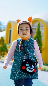小蛮 小网红 可爱 小女孩 熊本熊