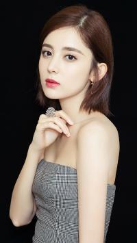 古力娜扎 演员 艺人 短发
