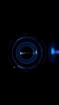 镜头 黑色 圆形 对焦 摄影 玻璃