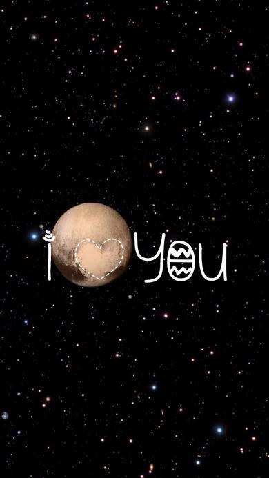 星空 月球 i love you 情侣