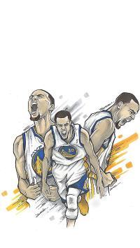 篮球 NBA 勇士队 运动