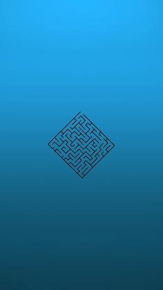 迷宫 蓝 创意