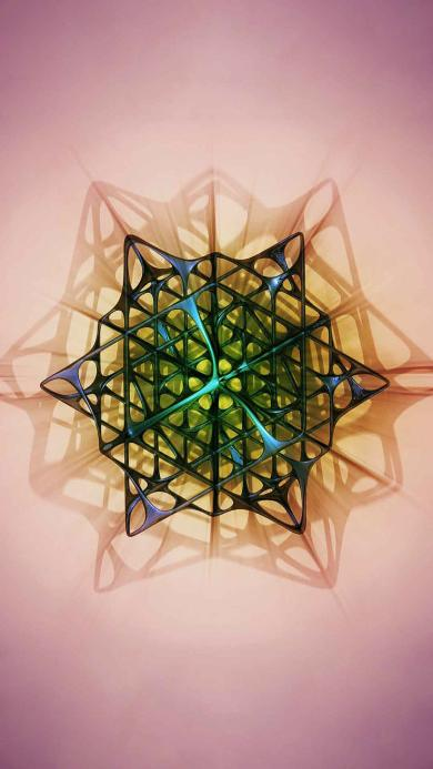 立体 几何 图形 创意