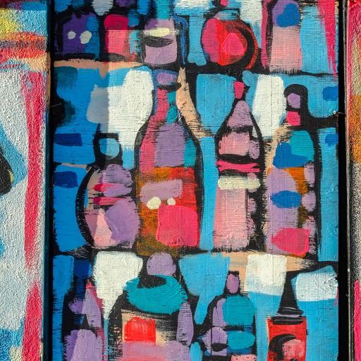 涂鸦 创意 街头 色彩