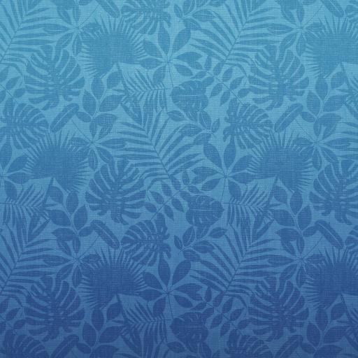 叶子 平铺 蓝色 图案 花纹