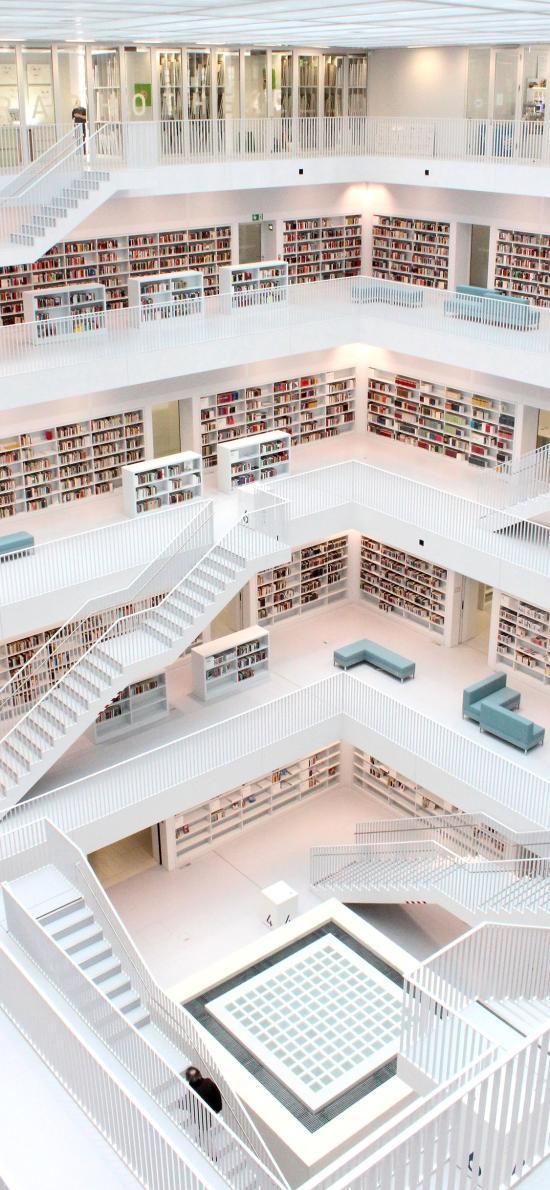 图书馆 建筑 设计 简约