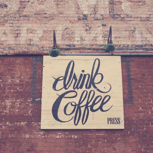 英文 drink coffee 喝咖啡