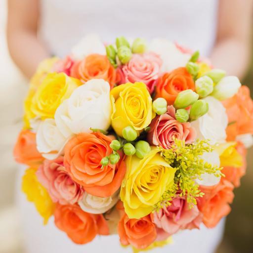 捧花 鲜花 婚礼 玫瑰