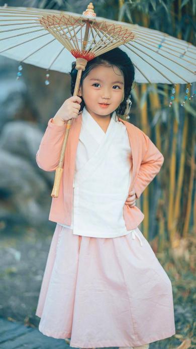 阿拉蕾 小女孩 古装 可爱 儿童